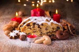 Dresdner Christstollen und Pltzchen zu Weihnachten