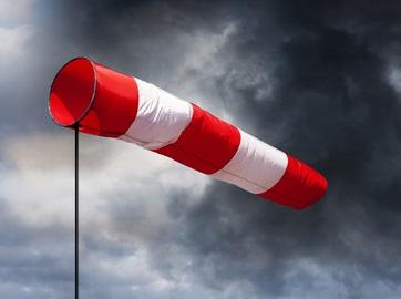 Windfahne bei Sturm