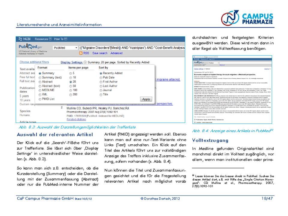 Studienmaterial Bsp.