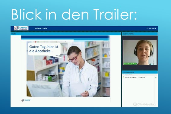 """Webinar """"Wie sag ich's dem Arzt"""" - Trailer01"""